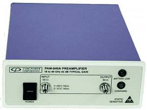 Com-Power PAM-840A, от 18 ГГц до 40 ГГц